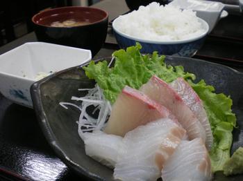 すずき刺身定食500円その2.JPG